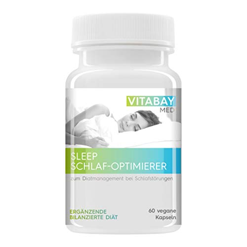 SLEEP - der Schlaf Optimierer. Zum Diätmanagement bei Schlafstörungen. (60 vegane Kapseln)