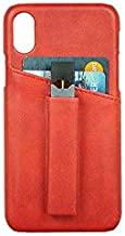 Phone XS JUUL Case Holder   Cards Holder   PU Leather Material   Light and Smooth Case   Never Forget or Lose JUUL (Red)