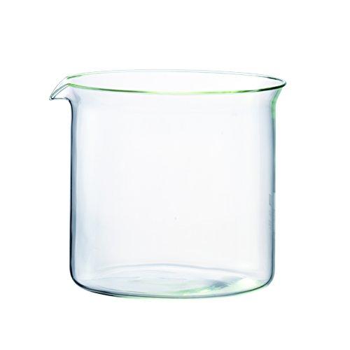 Bodum Spare Beaker - Cristal de Repuesto para Tetera 1865, 1,0 l, Color Transparente