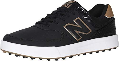 New Balance Men's 574 Greens Golf Shoe, Black, 10