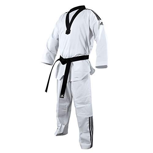 adidas - Dobok taekwondo ADI-FIGHTER 3 bandas collo negro T/190