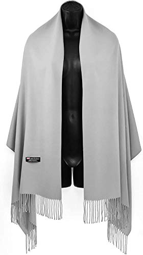 100% Cashmere Scarf Winter Blanket Fashion Long wraps Made in Scotland Soft Wool Tartan Plaid Solid Plain for Men Women