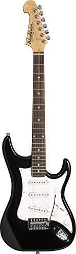 Washburn 6 String Solid-Body elektrische gitaar, zwarte glans (S1B-A)