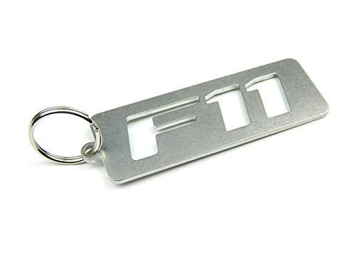 DisagrEE Porte-clés F11 en acier inoxydable de qualité supérieure.