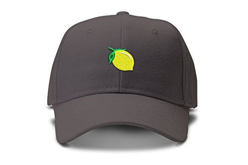 Sour Bitter Lemon Emoji Low Profile Dad Hat Cap