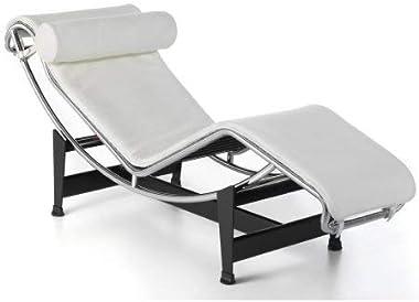 Replica Le Corbusier Chaise Lounge White