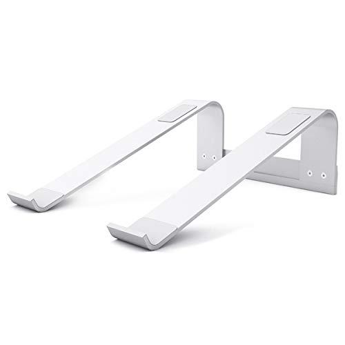 CUHAWUDBA Soporte para Computadora PortáTil Soporte Ventilado de Aluminio Soporte ErgonóMico Elevador PortáTil para Pro Todos los PortáTiles
