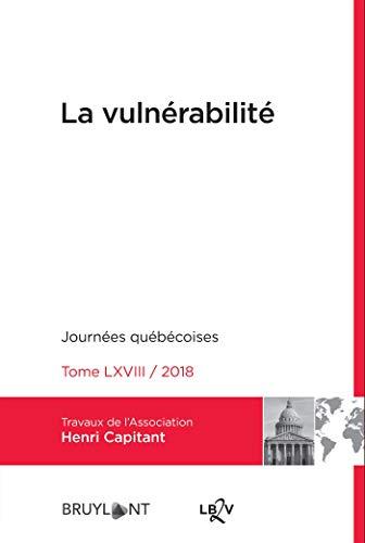 La vulnérabilité: Journées québécoises 2018