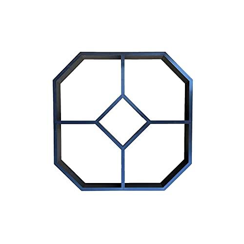 UTDKLPBXAQ Molde Hexagonal para Hacer senderos para Caminar, Molde para Hacer senderos para pavimentadoras de hormigón, Molde para Piedras de Paso de Cemento para hormigón