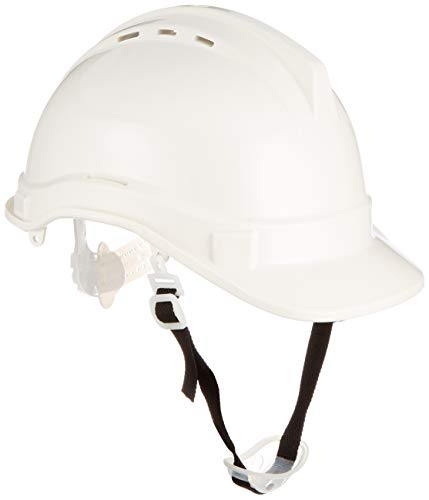 Silverline 868532 - Casco de seguridad (Blanco) ⭐