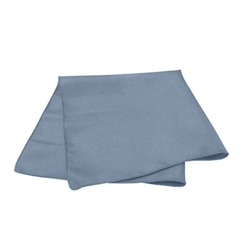 Ultimate Textile -5 Dozen- 10 x 10-Inch Cloth Cocktail Napkins, Slate Blue