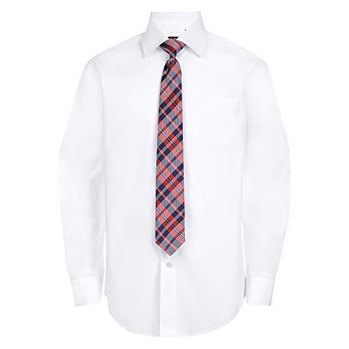 Chaps Boys' Big Long Sleeve Dres...