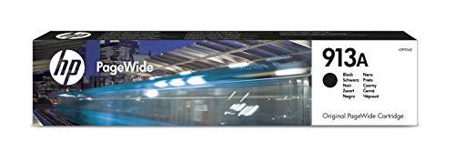 HP L0R95AE 913A Cartuccia Originale per Stampanti a Getto di Inchiostro, Compatibile con Stampanti PageWide 352DW e 377DW, PageWide Pro 477DW, 477DN e 477DWT, Nero
