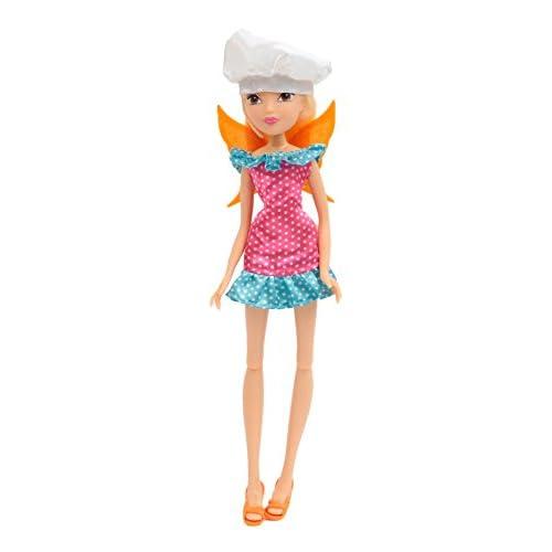 Giochi Preziosi - Winx Chef Chic Bambola Stella con Cappello da Chef e Ali
