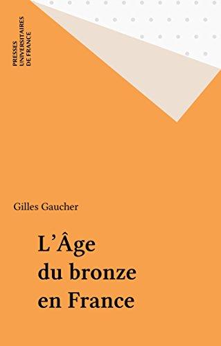 L'Âge du bronze en France (Que sais-je ? t. 835)
