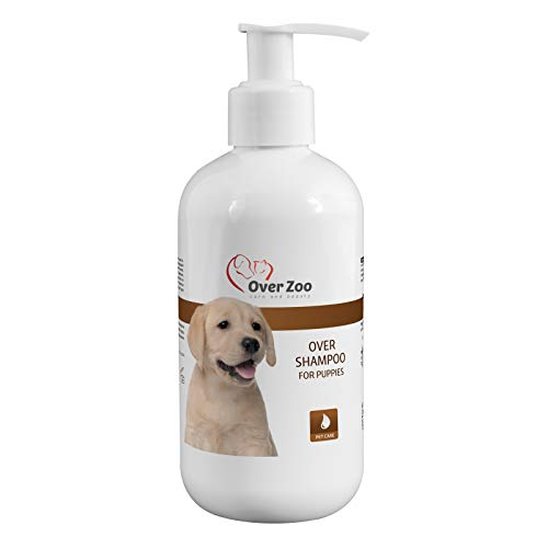 Over-Zoo Over Shampoo for Puppies (250 ml) - Champú para perros - pH neutro, bien tolerado y especialmente diseñado para cachorros