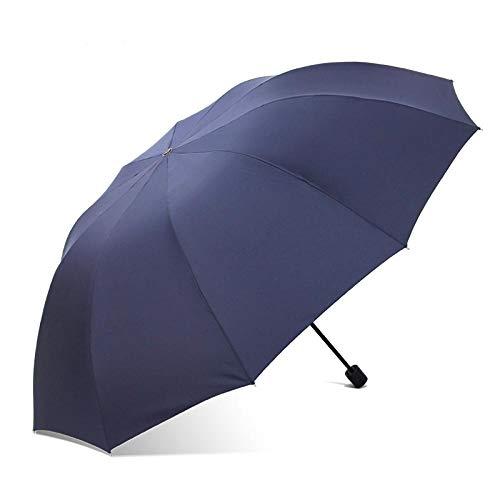 Sonnenschirm Regenschirm 152Cm Großer Golfschirm Regen Frauen Winddicht Großer Klappschirm Hochwertige Herren Business Doppelschirme