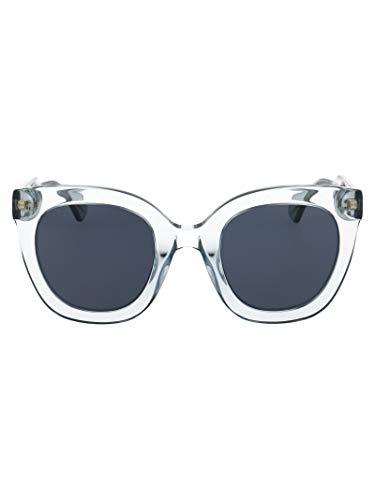 Gucci Luxury Fashion GG0564S003 - Gafas de sol para mujer, color azul claro