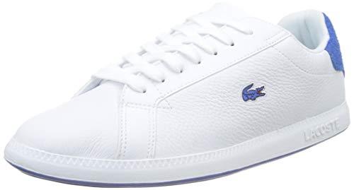 Lacoste Graduate 319 1 SFA, Sneaker Donna, Bianco (White/Blue 080), 38 EU