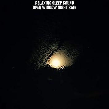 Open Window Night Rain