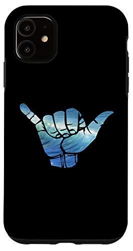 iPhone 11 Ocean Shaka Hawaii Waves Case