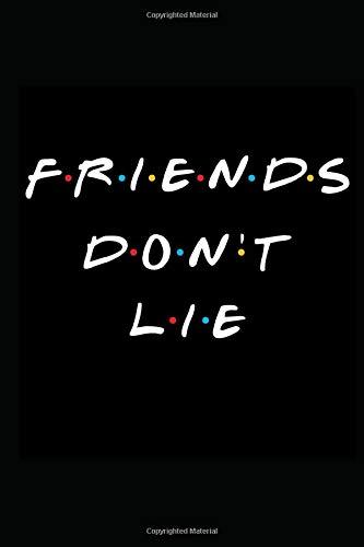 Friends don't lie: Stranger things notebook better than stranger things tshirt