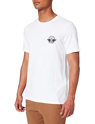 Dockers Logo tee Camiseta, Lucent White + Wing & Anchor, XL para Hombre