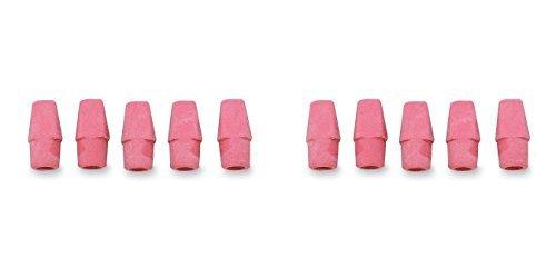 Integra Pencil Cap Eraser for Standard Pencils, 144 per Box, Pink (ITA36523), 2 Packs