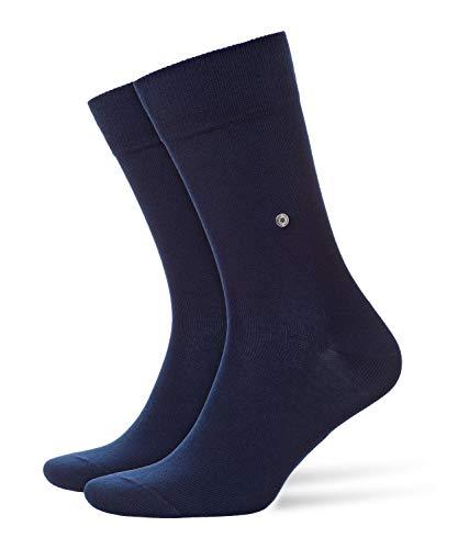 Burlington Herren Socken Everyday 2-Pack, Baumwolle, 2er Pack, Blau (Marine 6120), 40-46 (UK 6.5-11 Ι US 7.5-12)