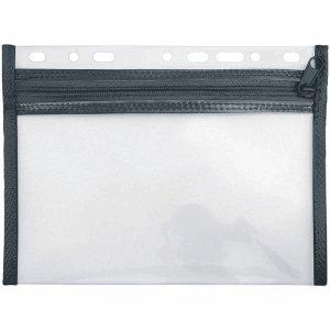 VELOFLEX 10 x Reißverschlusstasche Velobag XXS A5 schwarz