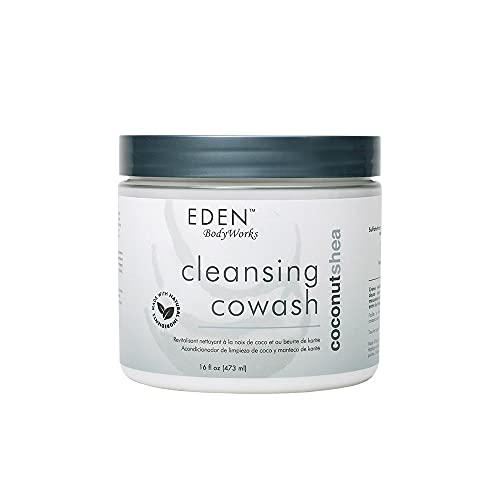 EDEN BodyWorks Coconut Shea Cleansing Cowash   16 oz   Remove Build Up, Cleanse, Control...