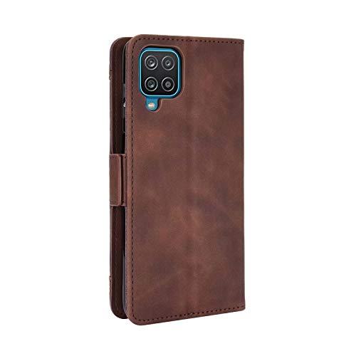 SOUFU Funda para Samsung Galaxy A32 5G Funda,PU Cuero Flip Fundas Móvil de Tapa Libro con Effetto anticollisione e Anti para Samsung Galaxy A32 5G Funda-marrón