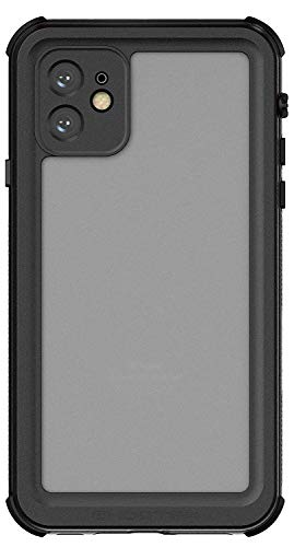 Ghostek Nautical Waterproof iPhone 11 Case with Screen Protector Super Heavy Duty Protection Tough Rugged Shockproof Full Body Shell Underwater Watertight Seal - 2019 iPhone 11 (6.1 Inch) - (Black)