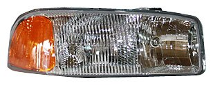TYC 20-5567-00 Compatible with GMC Passenger Side Headlight Assembly