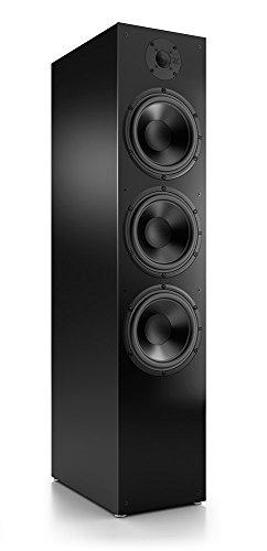Nubert nuBox 683 Standlautsprecher   Lautsprecher für Stereo & Musikgenuss   Heimkino & HiFi Qualität auf hohem Niveau   Passive Standbox mit 2.5 Wege Technik   Standbox Schwarz   1 Stück