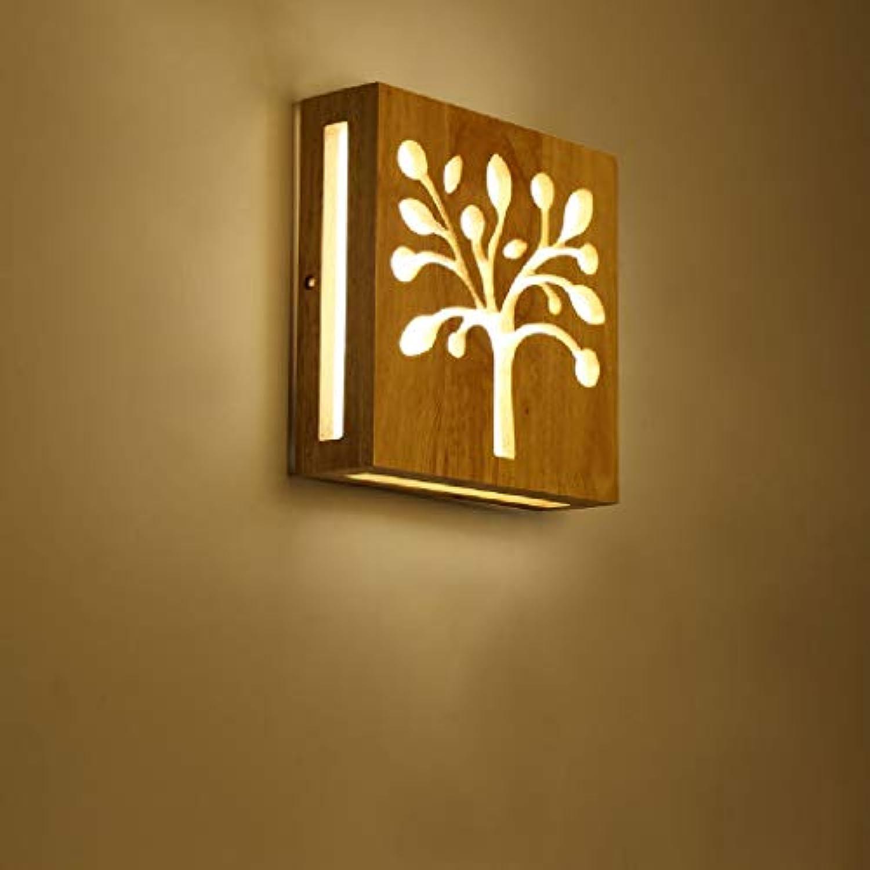 Japanisch-Stil Lampen Wandleuchten Kreative Massivholz Wandleuchte Moderne Minimalistische Wohnzimmer Gang Dekorative Lichter Führte Persnlichkeit Schlafzimmer Nachttischlampe Hoch  7.87 Zoll