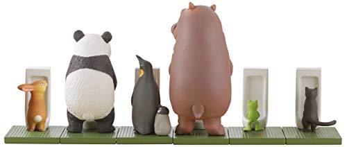 ミニチュア キューブ miniQ 佐藤邦雄の動物たち「つれ○○○2」 塗装済み 完成品 8個入 BOX