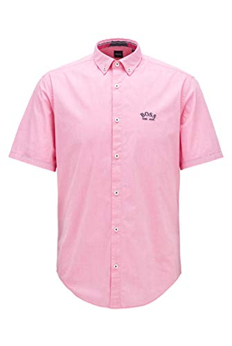 BOSS Biadia_r Camisa, Rosa Brillante, M para Hombre