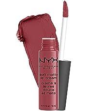 NYX Professional Makeup Lippenstift, Soft Matte Lip Cream, Crème en matte afwerking, sterk gepigmenteerd, Langdurig, Veganistische formule, Tint: Boedapest