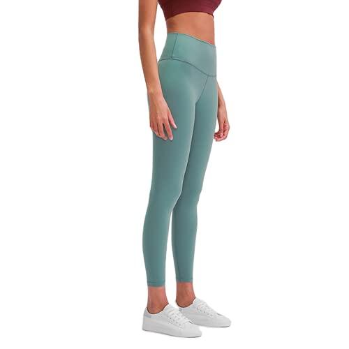 QTJY Medias Deportivas para Mujer, Pantalones de Yoga, Cintura Alta para Mujer, Nalgas para Correr, Estiramiento Ajustado, Pantalones Deportivos para Correr, Pantalones Deportivos EM