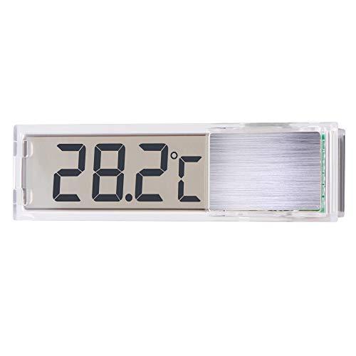 XIANNVV Aquarium-Thermometer, Digitale Induktions-Wassertemperatur, Flüssigkristallanzeige-Thermometer