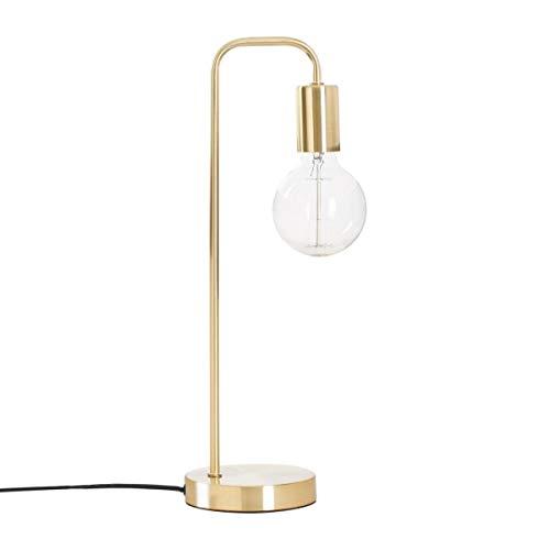 Lampe à poser en métal - Design et Originale - Coloris DORE