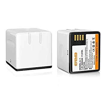 Oyomba 2-Pack A-1 Batteries Compatible with Arlo Pro Arlo Pro 2,VMA4400 Rechargeable 2440mAh 7.2V Lithium Li-ion Replacement Battery