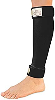 """Cho-Pat Shin Splint - Compression Sleeve Delivers Support, Reduces Pain, and Enhances Recovery - Designed by Medical Professionals (Black, Large 16""""-20"""")"""