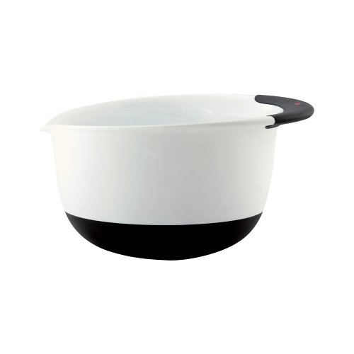OXO Plastic Mixing Bowl, 3-Quart, Black