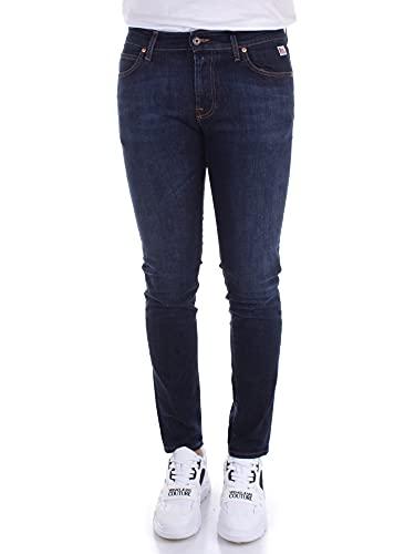 Roy Roger's A21RRU075D0210062 Jeans Slim Uomo Blu Denim 34