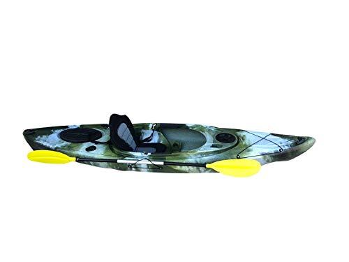 Cambridge Kayaks ES, Herring Camuflaje del Desierto Kayak DE Paseo Y Pesca, RIGIDO,