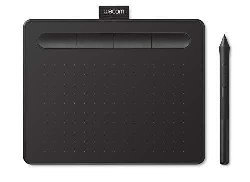 【Amazon.co.jp限定】ワコム ペンタブレット Wacom Intuos Smallベーシック お絵かきソフトウェア付き 黒 Androidにも対応 データ特典付き TCTL4100/K0