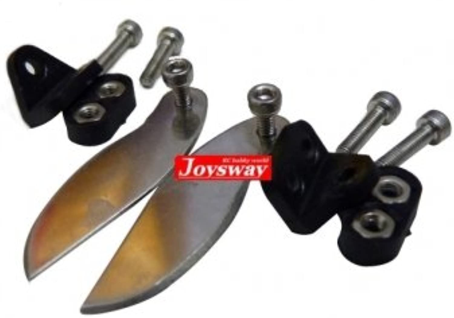 Man Friday JOYSWAY 9301 RC Boat Replacement Parts Steel Turn Fins Mnts