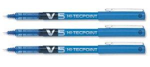 Pilot V5 Hi-Tecpoint azul 0.5tip enquiridión [1 pluma]